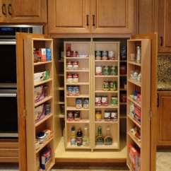 Kitchen With Pantry Cabinet Island Casters Re Imagining The Mother Hubbard 39s