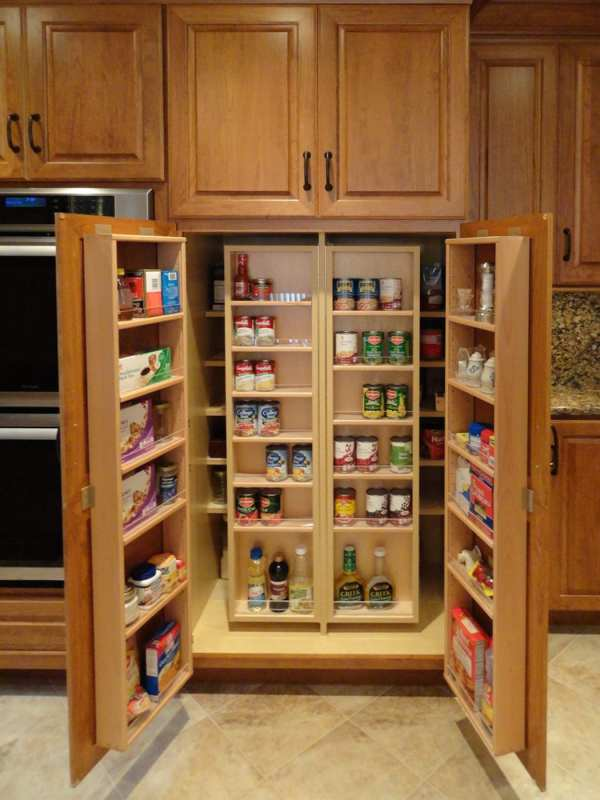 Imagining Kitchen Pantry Cabinet - Mother Hubbard' Custom Cabinetry