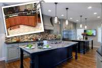 A Big Kitchen Remodel in a Small Hershey Home - Mother ...