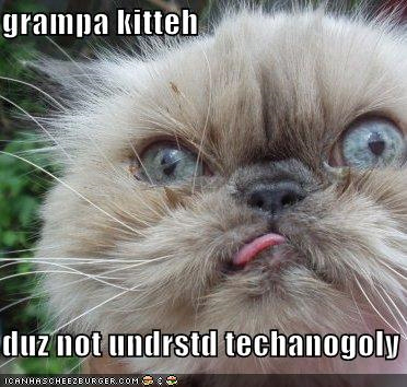 Old cats and technology