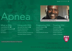 Go to Harvard Medical School's Sleep Disorders website.