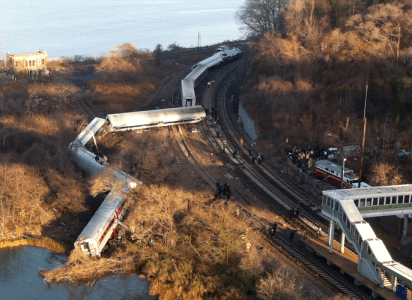 Bronx Metro-North Train Derailment