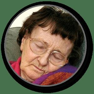 Old Lady Sleeps