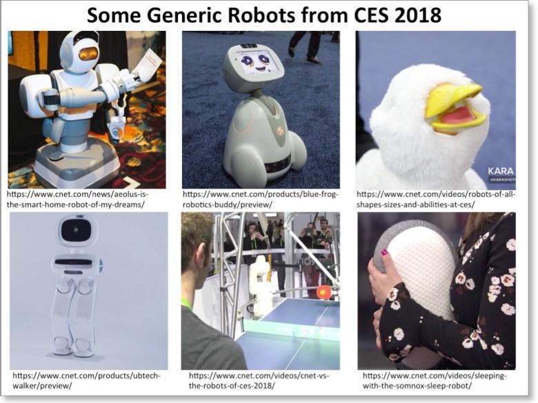 Robots of CES-2