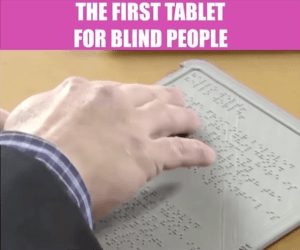 Blitab Braille Tablet