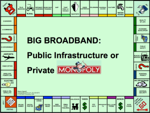 BIG Broadband: Public Infrastructure or Private Monopoly