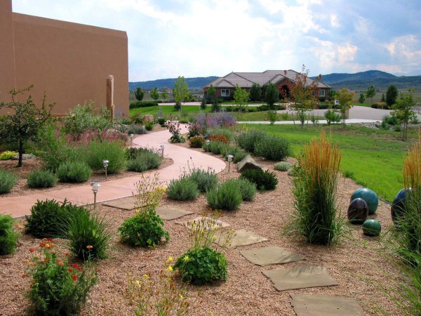 xeriscape landscaping mountain