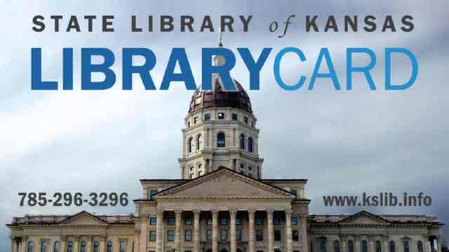 Kansas State Library Card