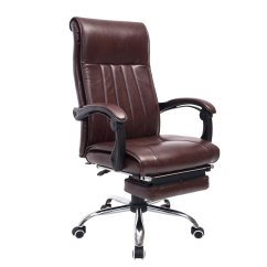 Reclining Office Chair With Footrest India Rent Throne Chairs Modern Adjustable Swivel