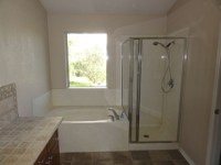 Latest bath remodel Round Rock, TX - MHM Remodeling