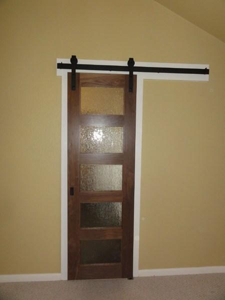 Bathroom barn doors  MHM Remodeling