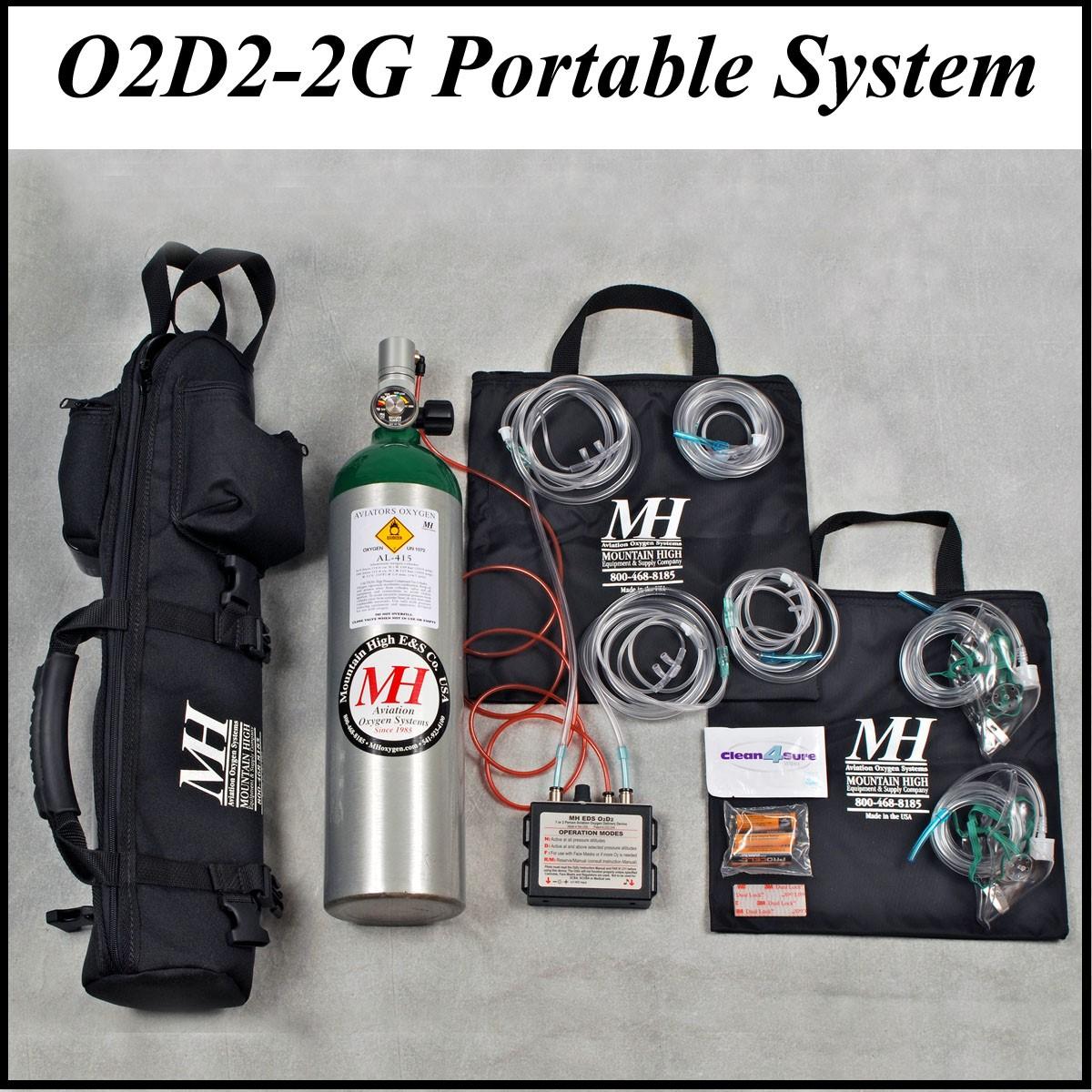 O2d2 System Eds Regulator Cylinder