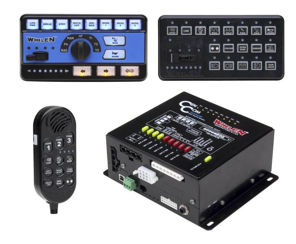 medium resolution of whelen cencom sapphire siren and lighting control center
