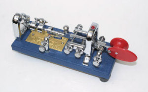 Vibroplex Original Key BLUE RACER