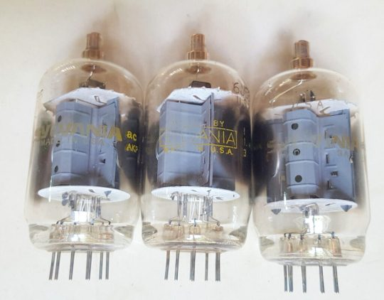 Drake TR4 Transceiver Sylvania Final Tubes set 6JB6 Used