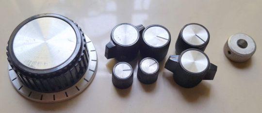Atlas 215X SSB Transceiver LOT#2 Original front buttons