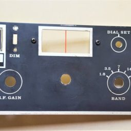 Atlas 215X SSB Transceiver LOT#1 Face with S-meter