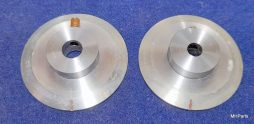 Kenwood TL-922 Original Aluminum Button Part Pair Used