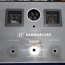 Hammarlund HQ-140-X Original Front Face Used