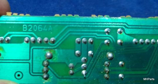 Icom IC-760 Pro , IC-765 Original B2064A Push Button Board Used working