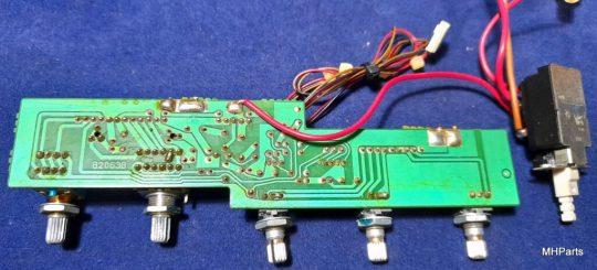 Icom IC-760 Pro , IC-765 Original Button Board B2063B Used working