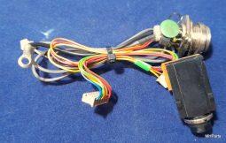 Yaesu FT-80C Original MIcrophone Connector Board F2943103A Used