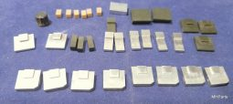 Icom IC-735 Original Knobs Lot Used
