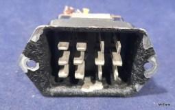 Reliant (Eldico) Receiver R-104 Original Back AC Current Connector Used