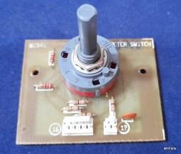 Ten Tec Centurion Original Meter Switch 81541 Board Used