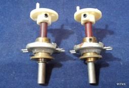 Ten Tec Centurion Original Front Buttons Scarce Plastic Gear Pair Used
