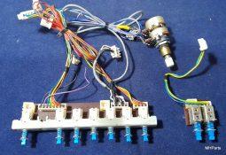 Yaesu FT-757 GX Original Push Buttons F2557000 and F2558000A Used
