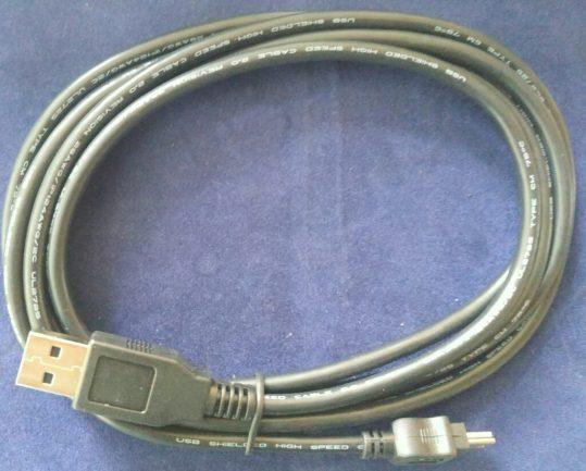 Iridium Original USBC1101 Mini Data cable for 9555 & 9575 New
