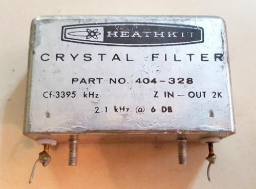 Heathkit HW-100 SSB Transceiver Crystal Filter