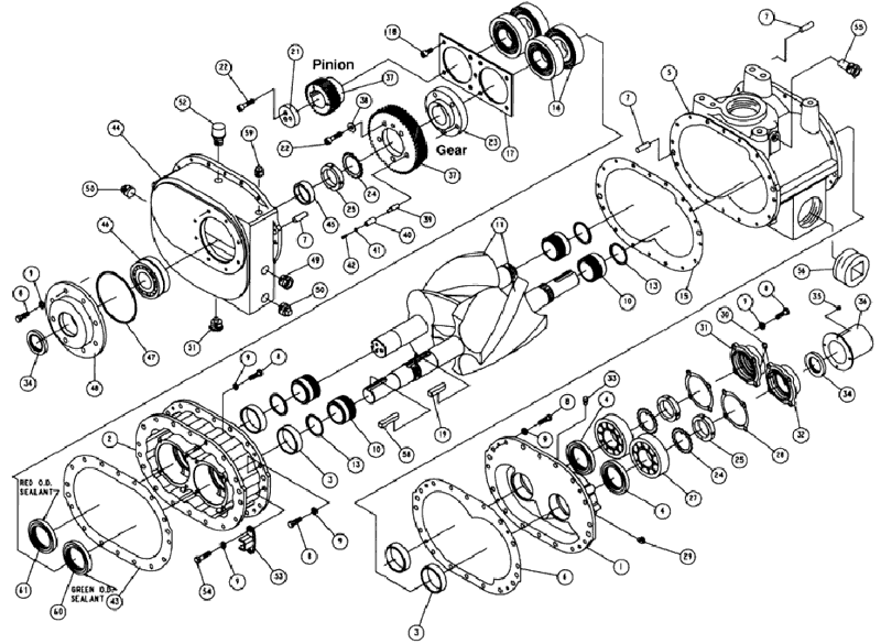 Cyclo-Blower T5CDL12/L72