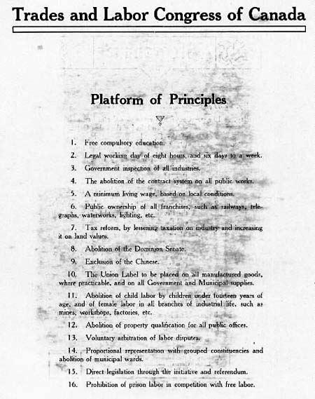 TimeLinks: Platform of Principles