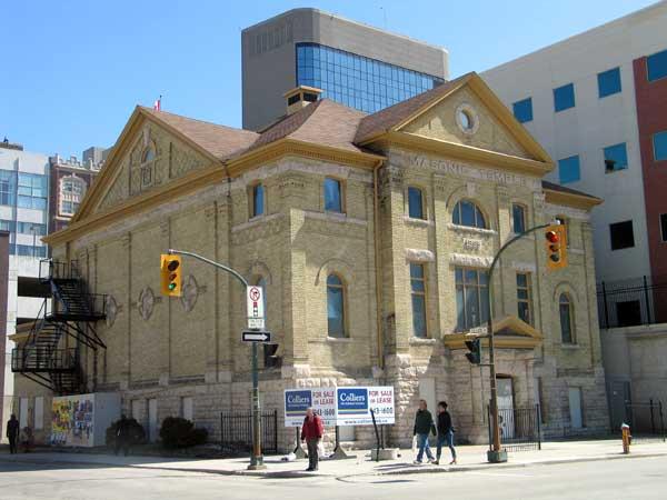 Historic Sites of Manitoba Masonic Temple  Mother Tucker
