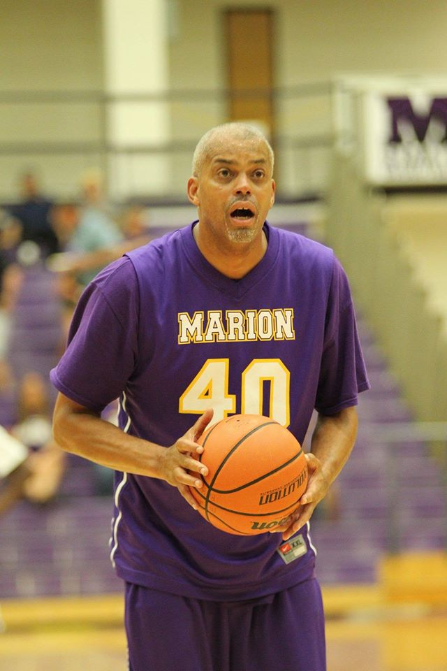 3 Point Basketball Shootout Giant Challenge 2016 Marion High School Alumni Assocaition