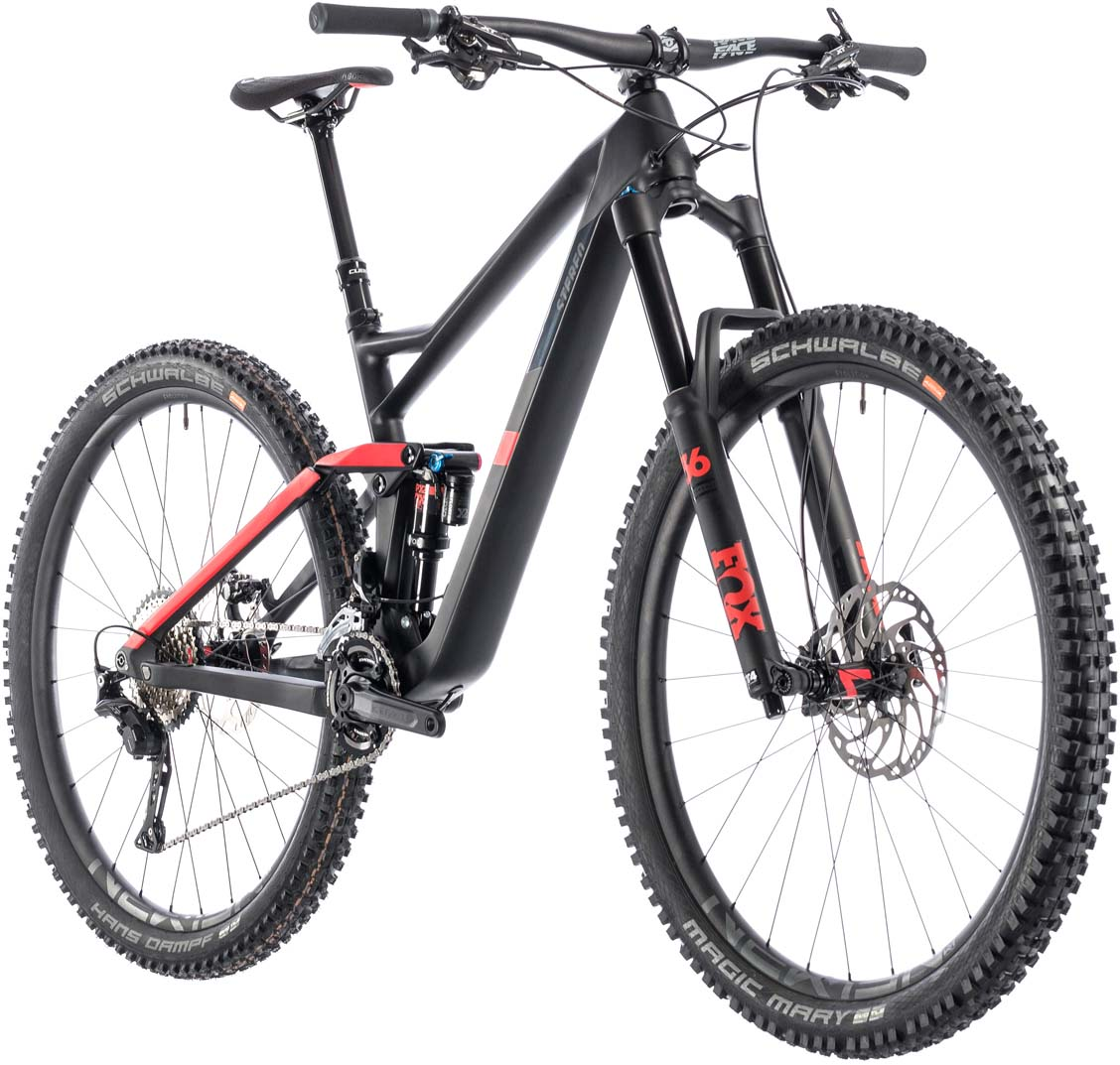 Cube Stereo 150 C 62 Race 29 Carbon N Red