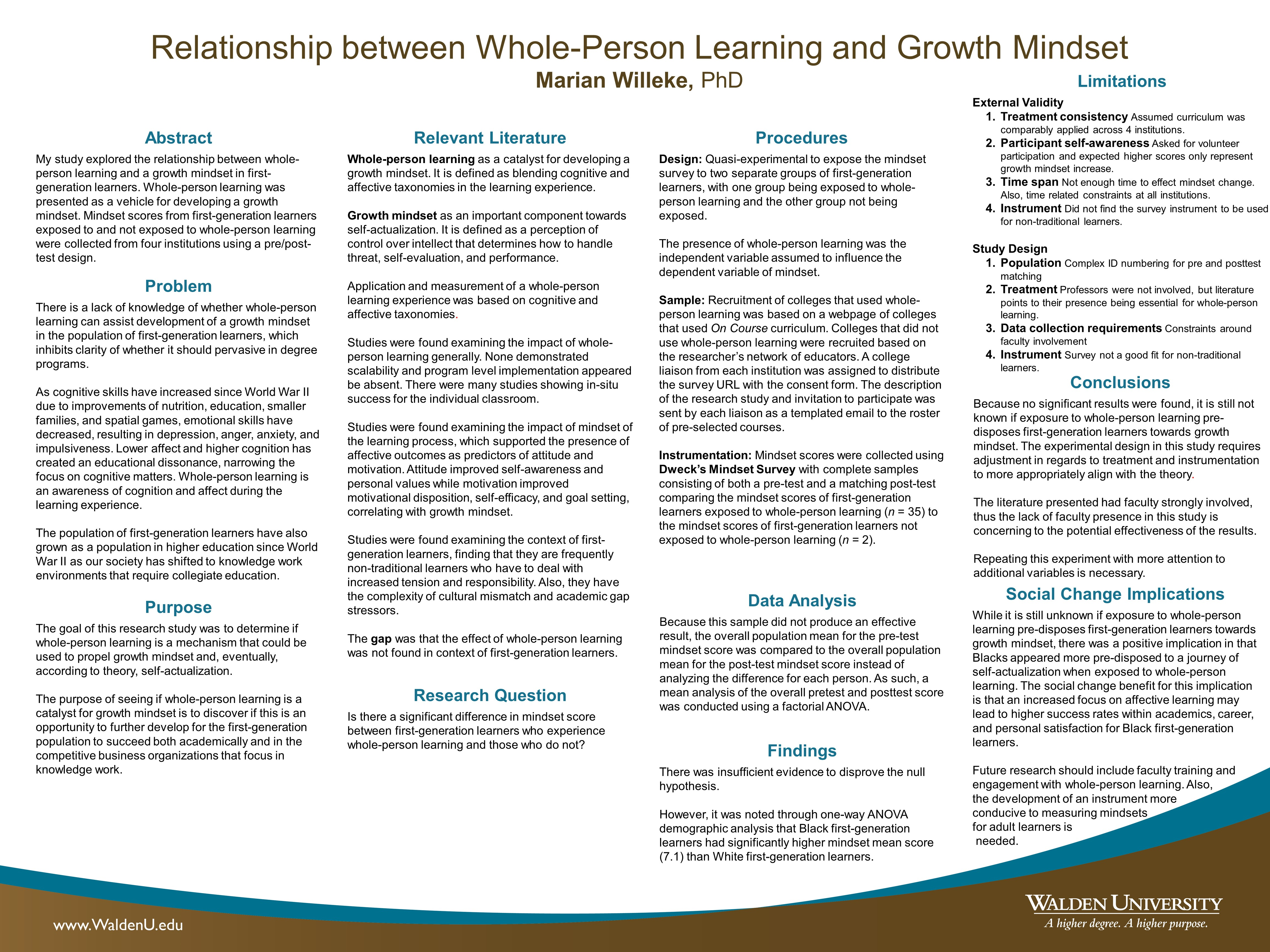 Growth Mindset For Adult Learners