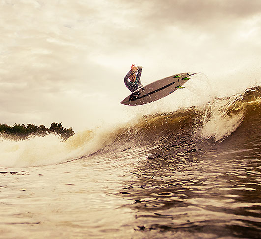 Surf Snowdonia advanced lessons