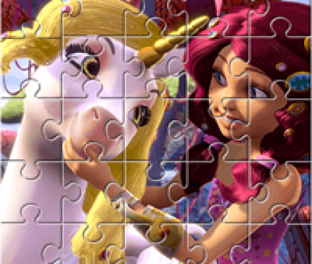 Come And Play With Mia And Me Puzzles