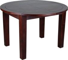 Esstisch Cherry 120cm rund   ausziehbar   Massivholz Möbel ...