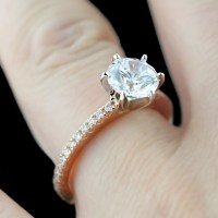 Rose Gold Engagement Ring Trend | MiaDonna The Future of ...