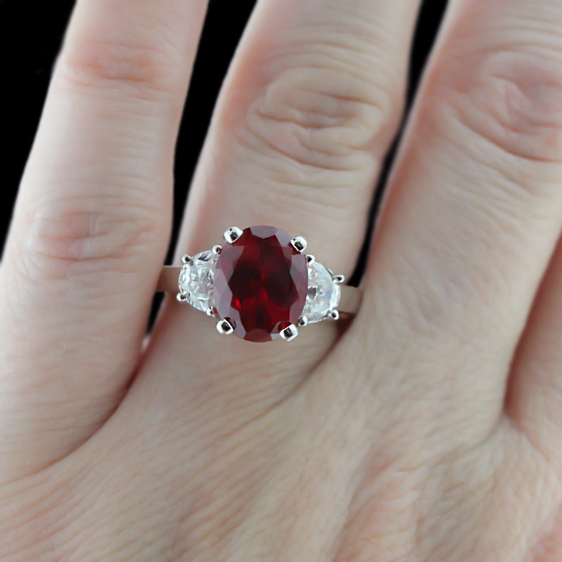 Ruby Engagement Rings Archives MiaDonna Diamond Blog