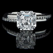 asscher cut diamond hybrids archives
