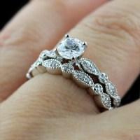 Wedding Ring Sets | MiaDonna Man Made Diamonds & Hybrids ...