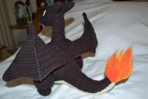 crochet charizard | crochet Mega Charizard X by WayaYoshitaka ... | 200x300
