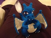 Charizard made by NinjaBex from Ravelry. I really enjoyed the idea of different colors! ^^