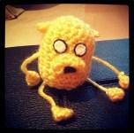 Jake made by Kirsty McQuack. Isn't he cute?