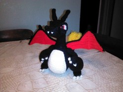Charizard made by Carole. Yay! He is handsome!